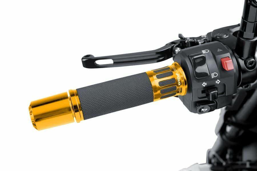 Obrázek produktu Rukojeti PUIG RACING zlatá 119mm