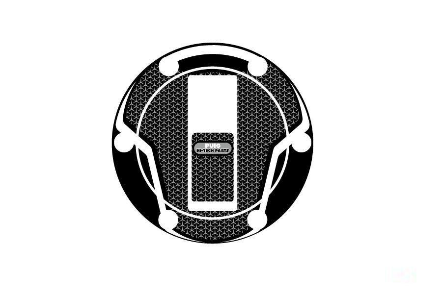 Obrázek produktu Ochranné nálepky na víčko nádrže PUIG NAKED šedá