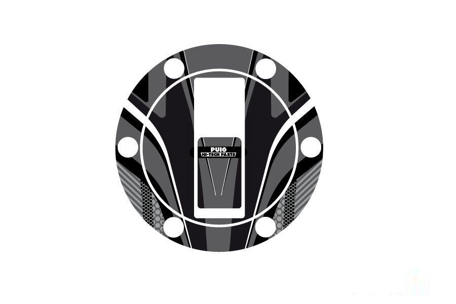 Obrázek produktu Ochranné nálepky na víčko nádrže PUIG RADIKAL šedá