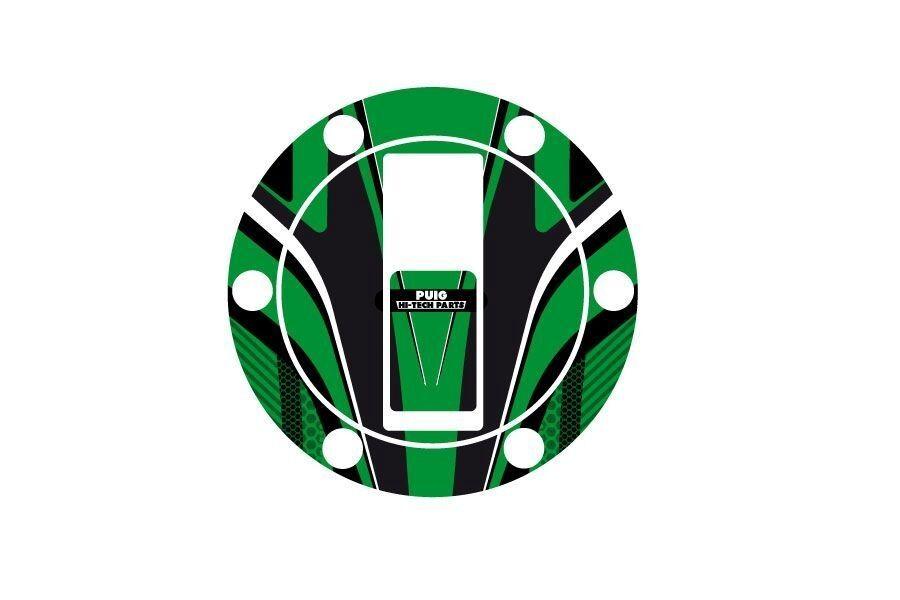 Obrázek produktu Ochranné nálepky na víčko nádrže PUIG RADIKAL zelená