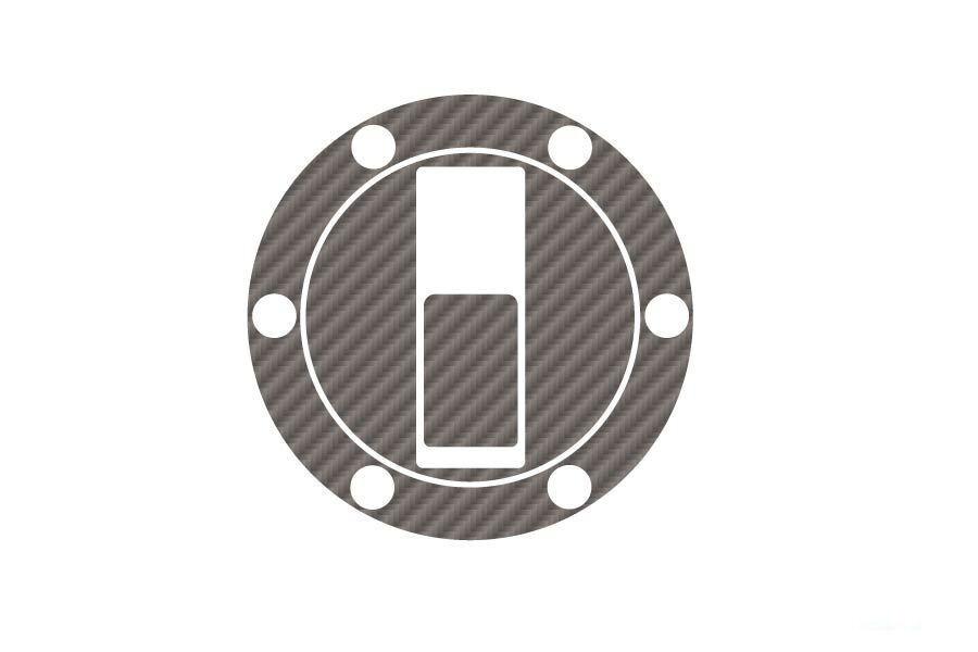 Obrázek produktu Ochranné nálepky na víčko nádrže PUIG X-TREME karbonový vzhled
