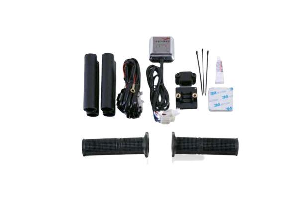 Obrázek produktu Vyhřívané rukojeti PUIG černý s termostatem