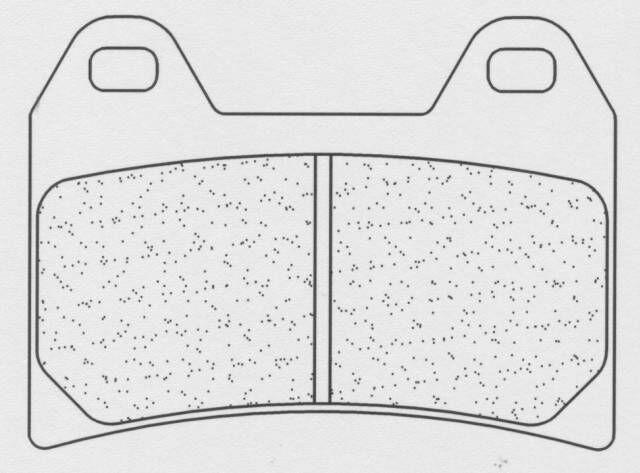 Obrázek produktu Brzdové destičky CL BRAKES SM3