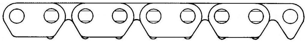 Obrázek produktu rozvodový řetěz 81RH2515, MORSE (118 článků včetně spojky) B2812515118