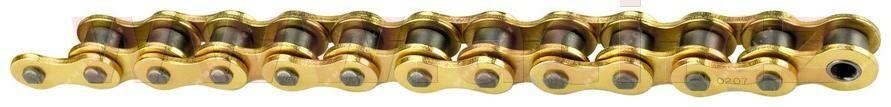 řetěz 520MXR1, SUNSTAR (bezkroužek, barva zlatá, 116 článků) HUSQVARNA TC 510 - od 2004 2007-2009-1