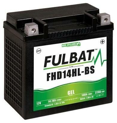 Obrázek produktu baterie 12V, FHD14HL-BS GEL, 14,7Ah, 220A,bezúdržbová GEL technologie, FULBAT 150x87x145 (aktivovaná ve výrobě) 550880