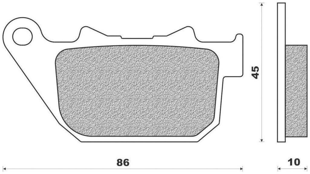 Obrázek produktu brzdové destičky (směs ROAD HD SINTERED) NEWFREN (2 ks v balení)