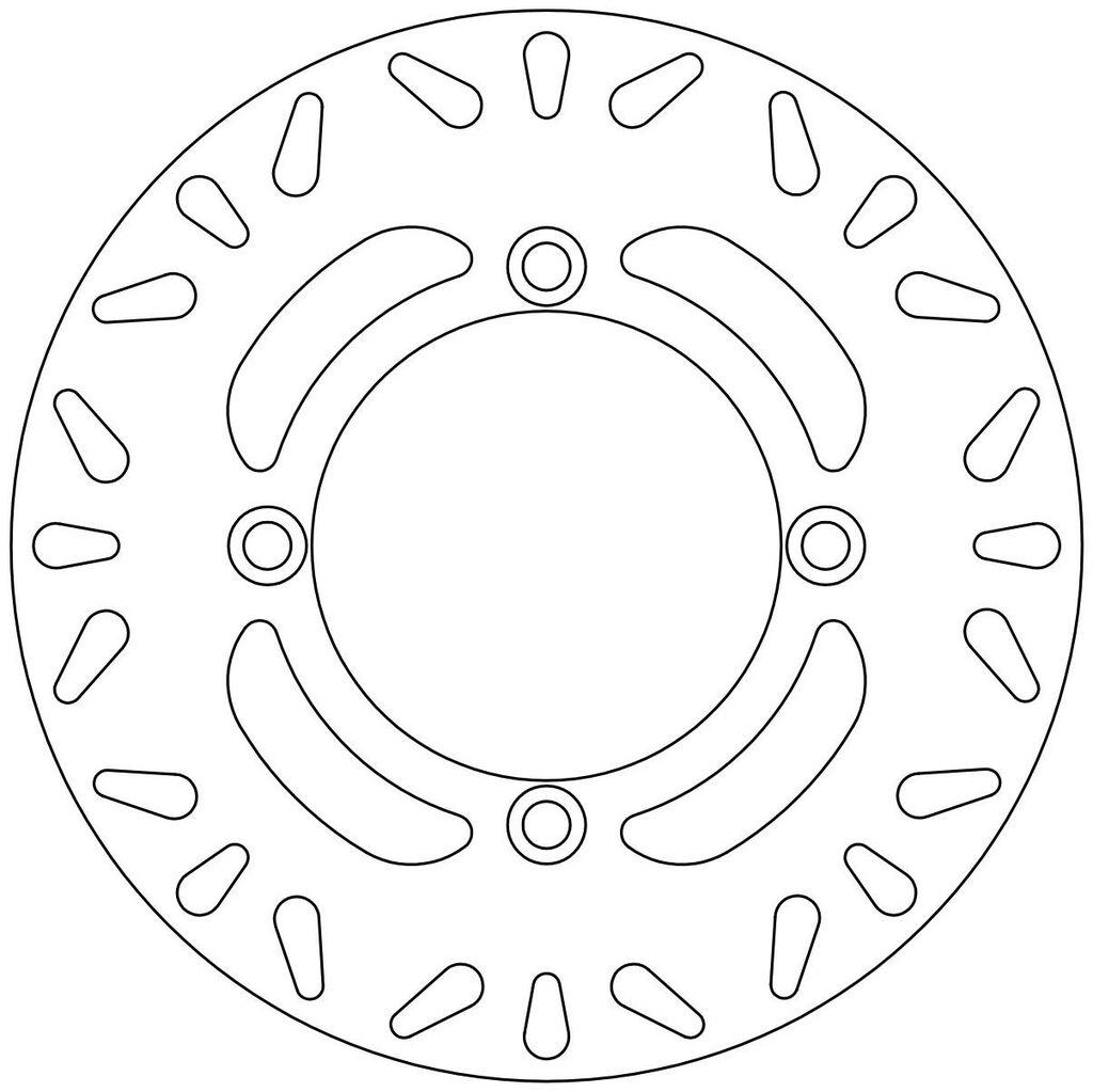 Obrázek produktu brzdový kotouč, NEWFREN