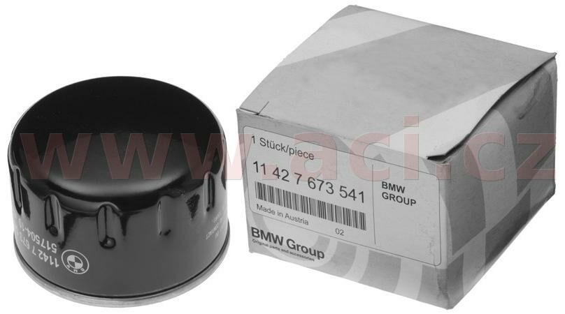 Obrázek produktu olejový filtr originál BMW 11427673541
