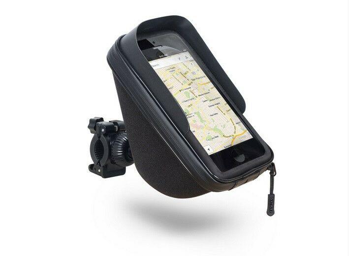 """Obrázek produktu Držák na chytré telefony SHAD na řídítka s úložištěm (1l), 6,6"""" X0SG75H"""