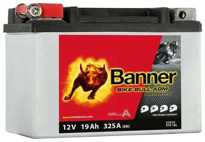 Obrázek produktu baterie 12V, ETX 9, 8Ah, 120A, BANNER Bike Bull AGM PRO 150x88x106