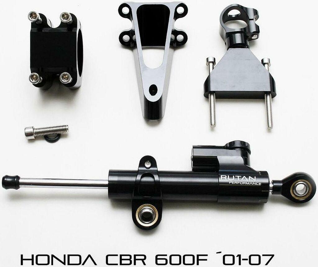 Obrázek produktu Montážní sada na tlumič řízení HONDA CBR 600F 01-07 (sada bez tlumiče řízení) RUTAN PERFORMANCE