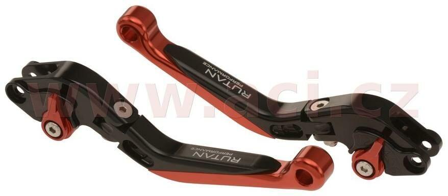 CNC páčky zalamovací a výsuvné (pár), RUTAN - ČR RUTAN PERFORMANCE TRIUMPH Sprint 1050 GT ABS 2013-2014-4