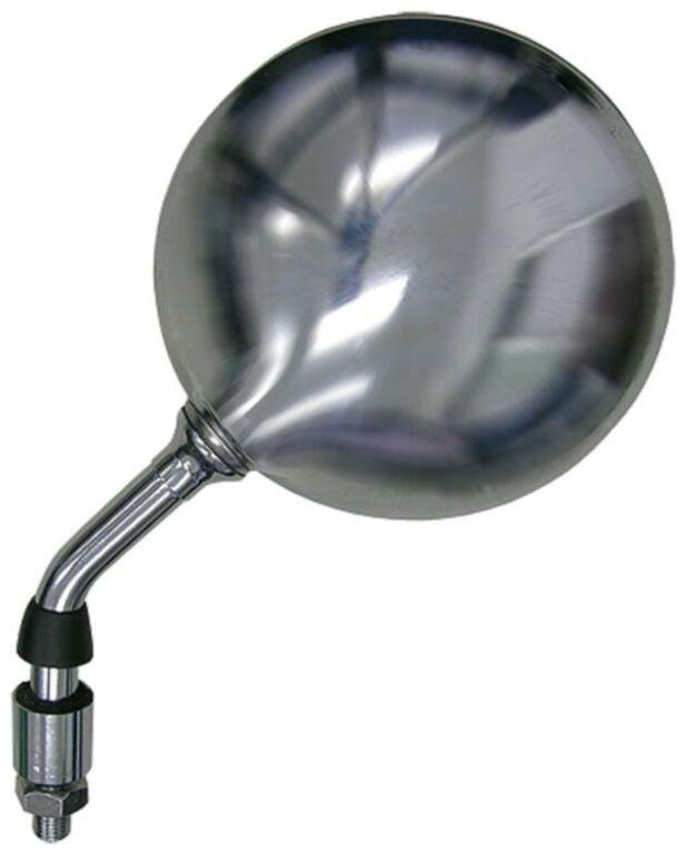 Obrázek produktu zpětné zrcátko chromové (závit pravý M10, průměr skla 120 mm), Q-TECH, L FH-115 LH