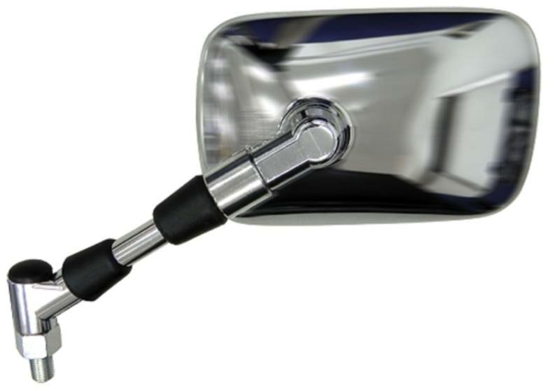 Obrázek produktu zpětné zrcátko chromové (závit pravý M10), Q-TECH, L FS-926 LH
