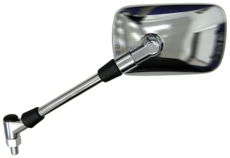 Obrázek produktu zpětné zrcátko chromové (závit pravý M10), Q-TECH, L FS-921 LH