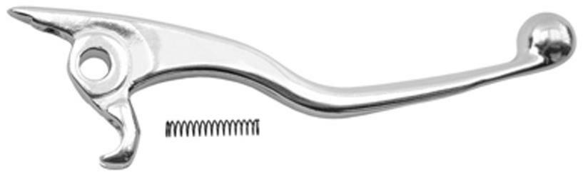Brzdová páčka kovaná (stříbrná) Q-TECH HUSQVARNA TE 310 R ie 2013-2013