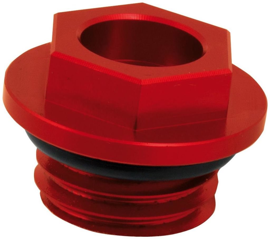 Obrázek produktu šroub plnícího hrdla oleje, RTECH (červený)