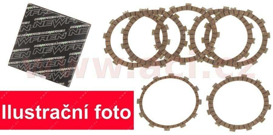 Obrázek produktu sada spojkových lamel (STANDARD směs) NEWFREN (3 ks)