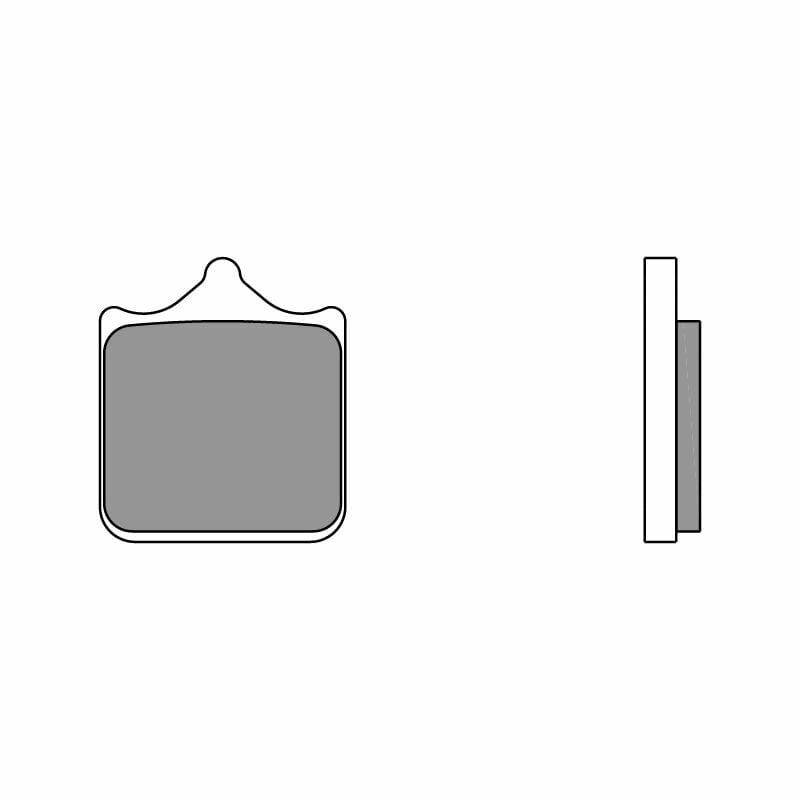 Obrázek produktu Brzdové destičky BREMBO RC