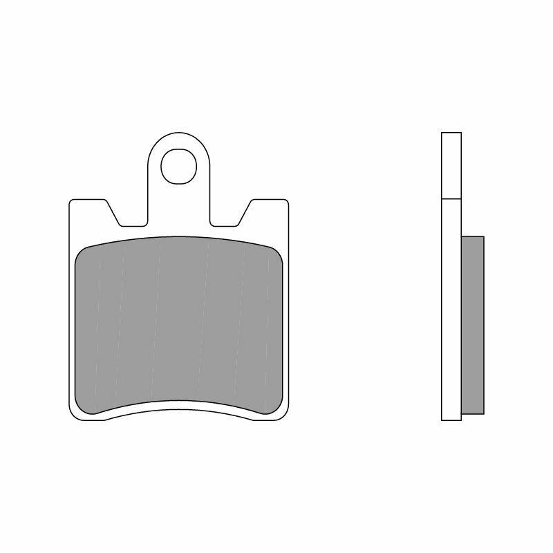 Obrázek produktu Brzdové destičky BREMBO SA