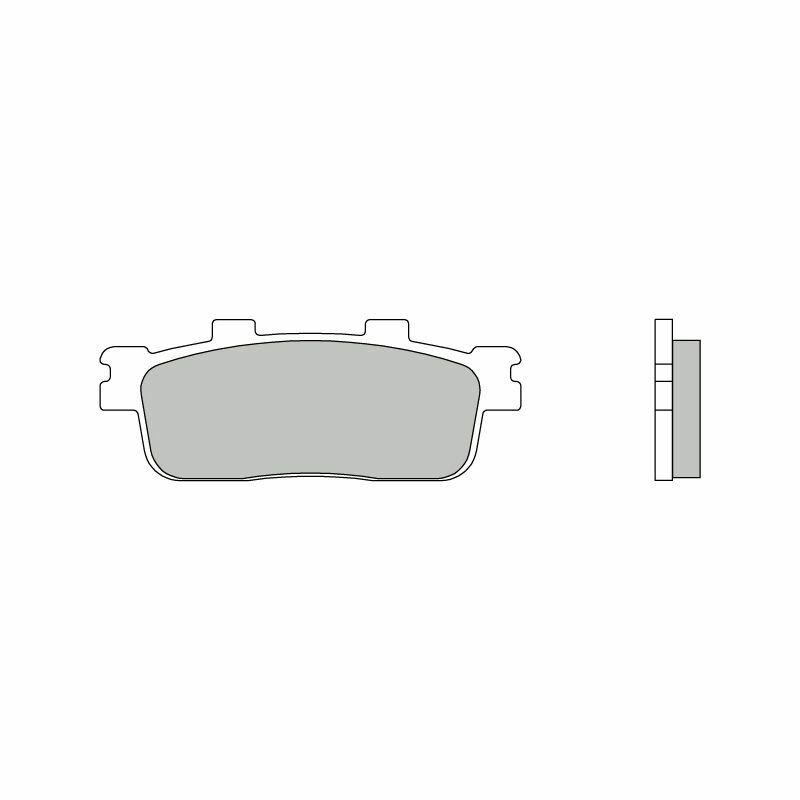Obrázek produktu Brzdové destičky BREMBO XS