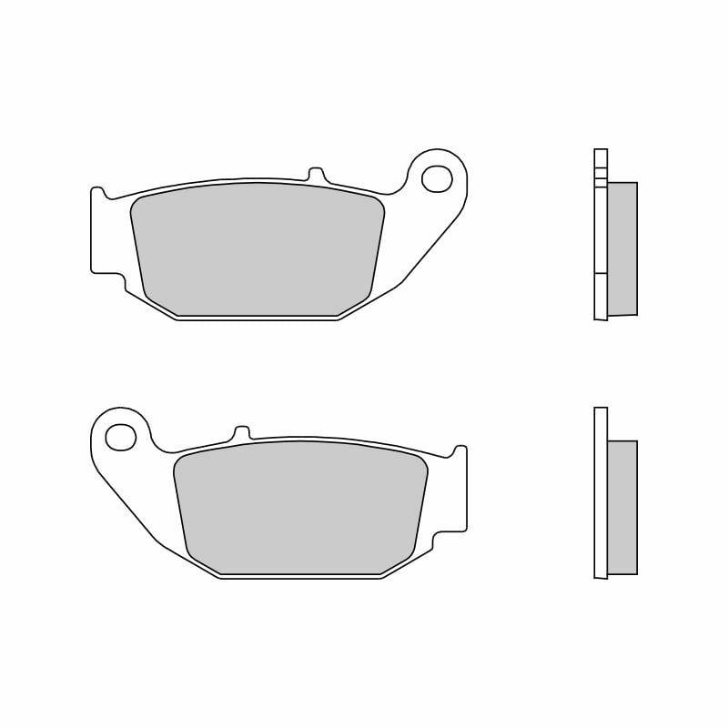Obrázek produktu Brzdové destičky BREMBO SD