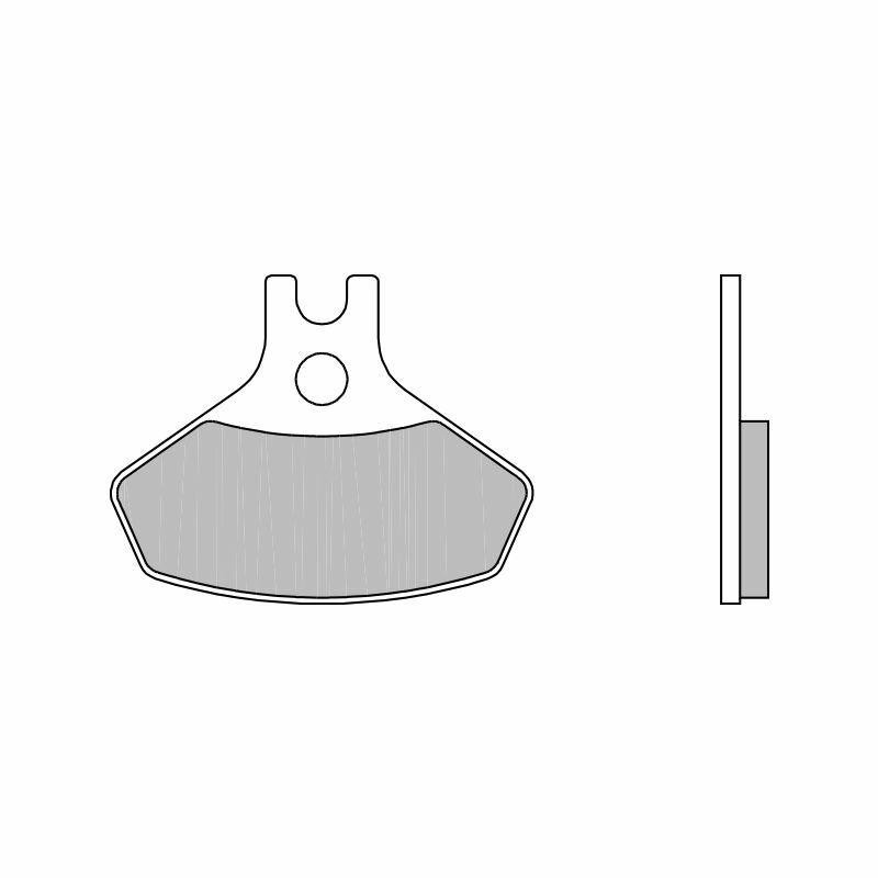 Obrázek produktu Brzdové destičky BREMBO SX