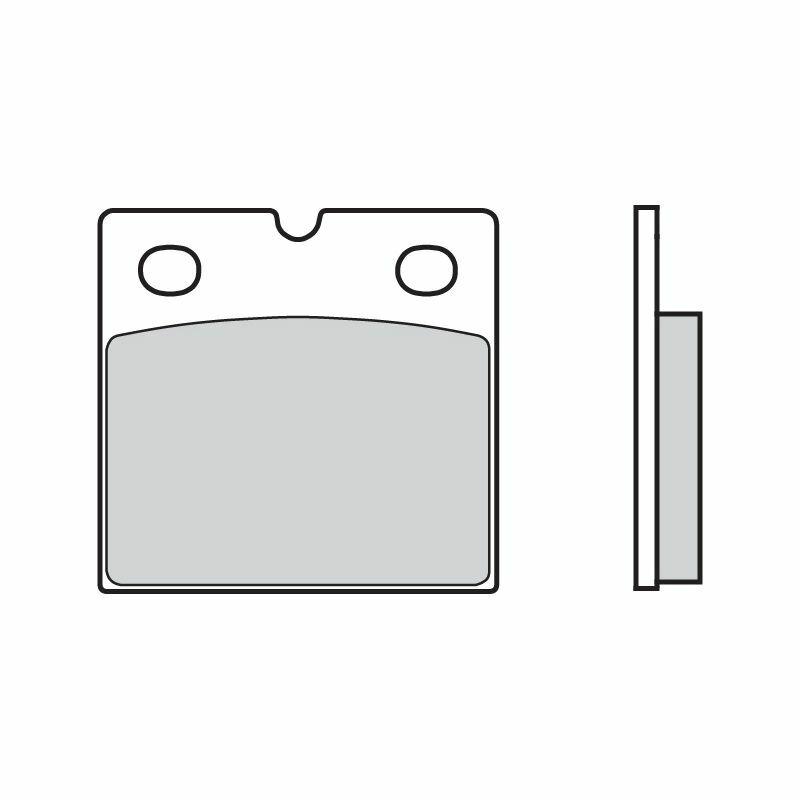 Obrázek produktu Brzdové destičky BREMBO SP