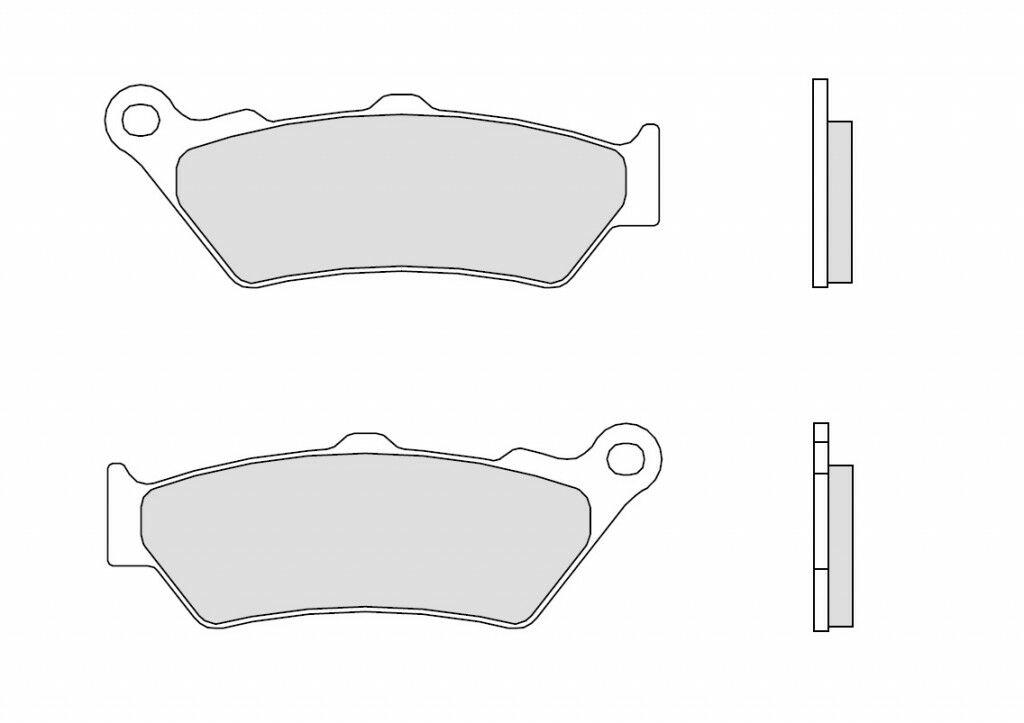 Obrázek produktu Brzdové destičky BREMBO GENUINE