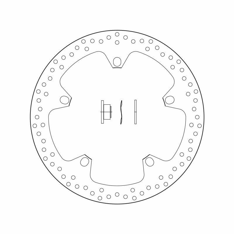Obrázek produktu Brzdový kotouč BREMBO fix 168B407D7