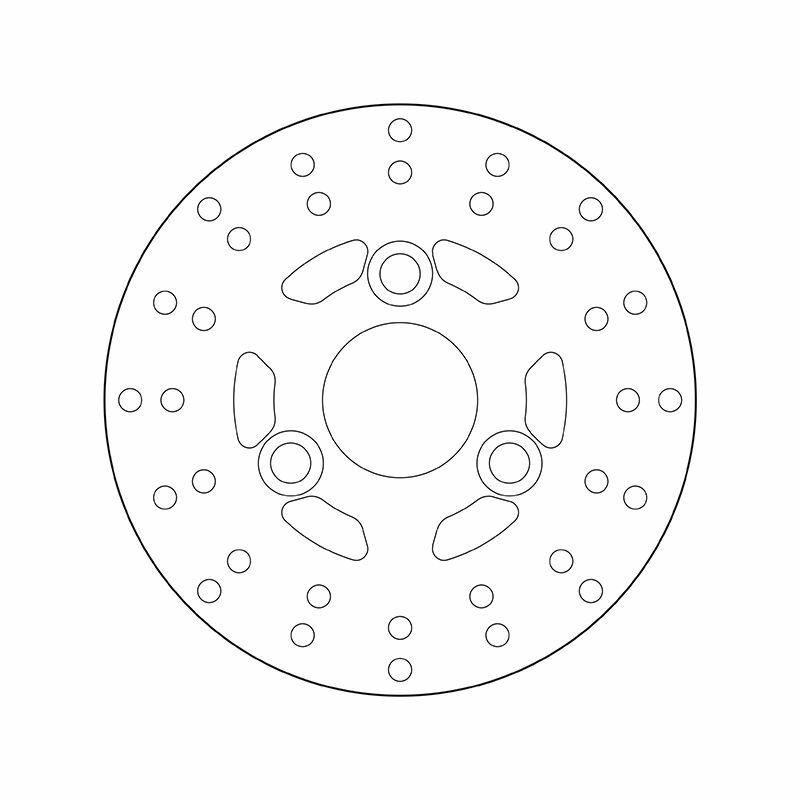 Obrázek produktu Brzdový kotouč BREMBO fix 68B40710