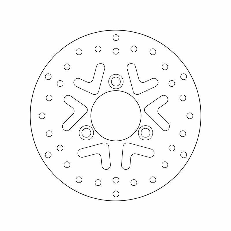 Obrázek produktu Brzdový kotouč BREMBO fix 68B40718