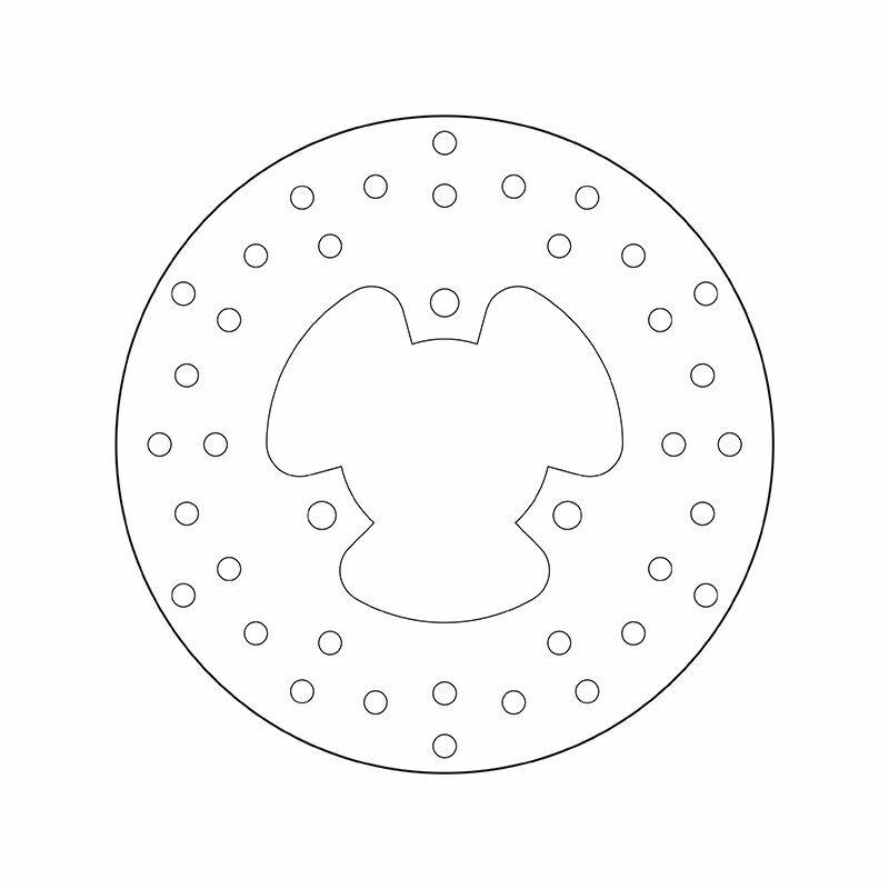 Obrázek produktu Brzdový kotouč BREMBO fix