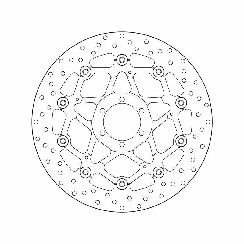 Obrázek produktu Brzdový kotouč BREMBO floating