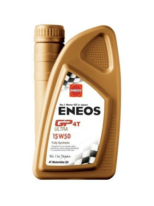 Obrázek produktu Motorový olej ENEOS GP4T Ultra Enduro 15W-50 1l EU0145401