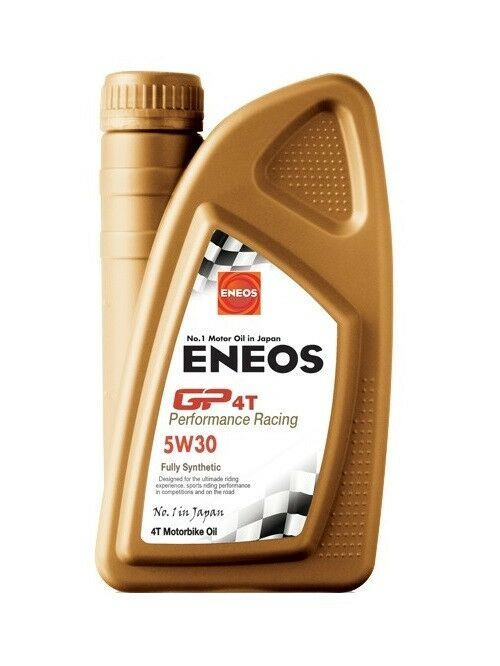 Obrázek produktu Motorový olej ENEOS GP4T Performance Racing 5W-30 1l EU0146401