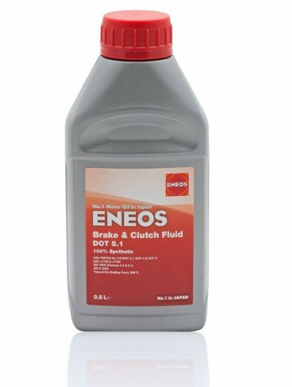Obrázek produktu Brzdová kapalina ENEOS Brake & Clutch Fluid DOT5.1 0,5l