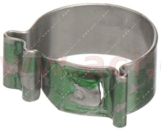 Obrázek produktu bezšroubová spona typ W4, 11,5-12,5 mm (15 ks) NORMACLAMP COBRA - výroba Německo pack COBRA 11,0/7W4