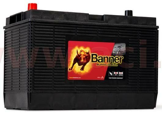 Obrázek produktu 105Ah baterie 1000A BANNER pro užitková vozidla CATERPILLAR 330x171x218(241) 60502