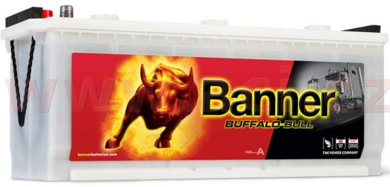 Obrázek produktu 120Ah baterie, 720A, levá BANNER Buffalo Bull 514x189x195(220) 62034