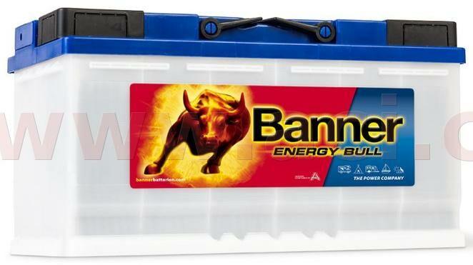 Obrázek produktu 100Ah trakční baterie, pravá BANNER Energy Bull 354x175x190 95751