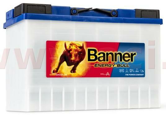 Obrázek produktu 115Ah trakční baterie, pravá BANNER Energy Bull 344x172x214(230) 95901