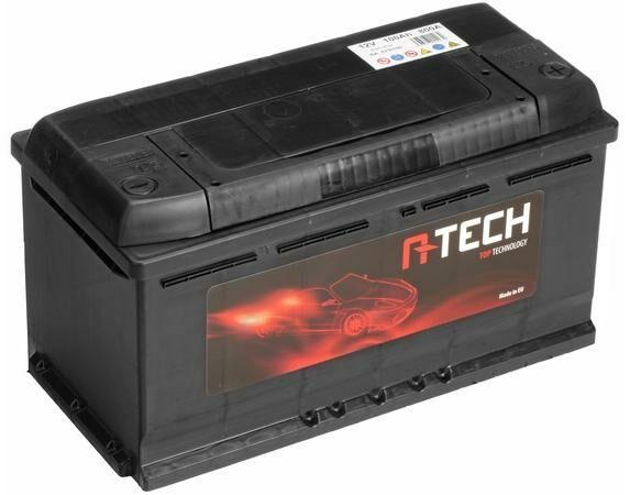 Obrázek produktu 100Ah EFB baterie START-STOP, 800A, pravá A-TECH EFB 354x175x190 60005