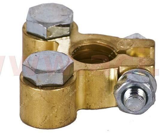 Obrázek produktu mosazná bateriová svorka 11.2 mm Japan - 5895