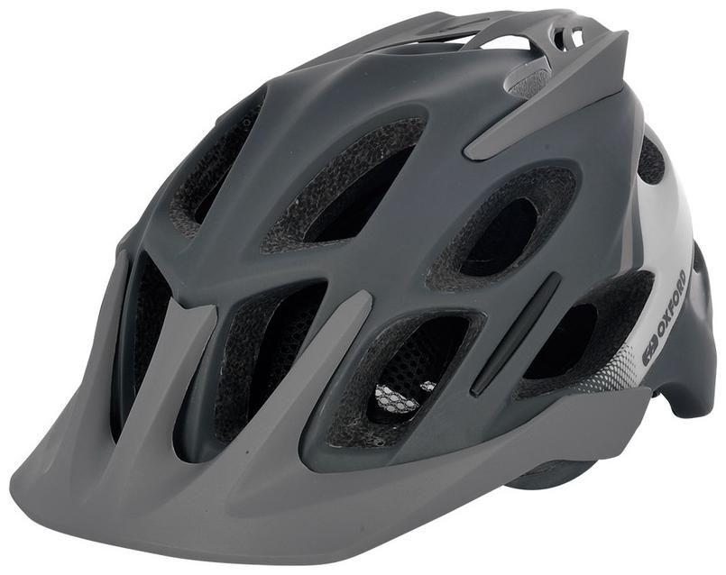 Obrázek produktu cyklo MTB přilba TUCANO, OXFORD (černá matná/šedá/světle šedá)