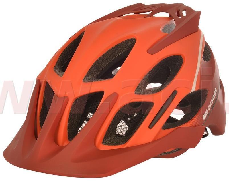 Obrázek produktu cyklo MTB přilba TUCANO, OXFORD (oranžová matná/cihlová/světle šedá)