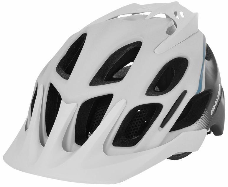 Obrázek produktu cyklo MTB přilba TUCANO, OXFORD (bílá matná/černá/modrá)