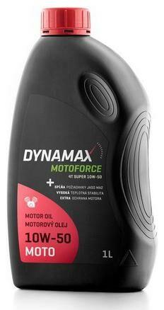 Obrázek produktu DYNAMAX MOTOFORCE 4T SUPER 10W50, polosyntetický motorový olej 1 l 501694