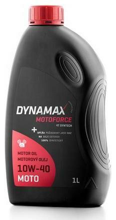 Obrázek produktu DYNAMAX MOTOFORCE 4T SYNTECH 10W40, plně syntetický motorový olej 1 l 501687
